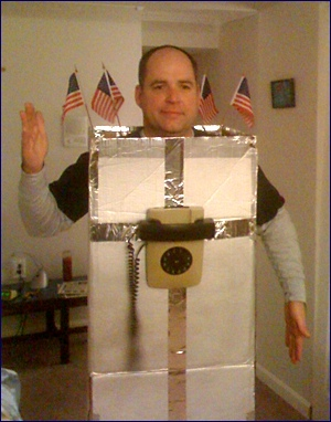 Political Robocall Costume