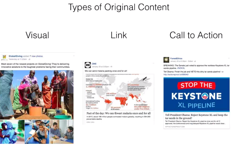 Social Content Types
