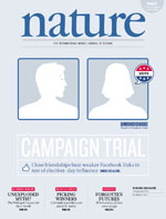Nature: Social Media CAN Influence Voting Behavior