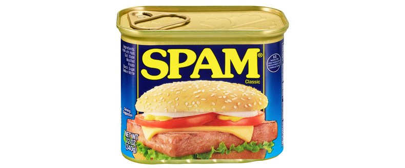 Fundraising emails caught in spam filter