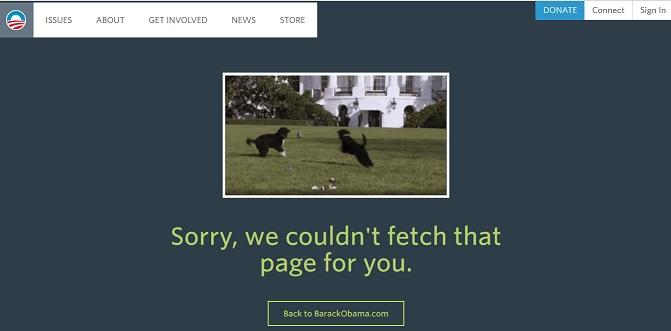 Obama 404